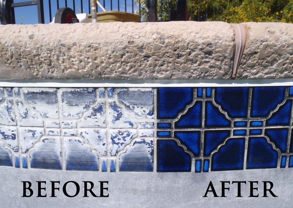Simi Valley Swimming Pool Repair Tile Cleaning